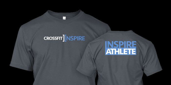 CROSSFIT INSPIRE 'ATHLETE' T-SHIRT